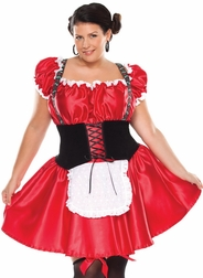 Plus Size Bavarian Beer Girl Costume