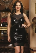 Plus Size Black Dahlia Sexy Dress