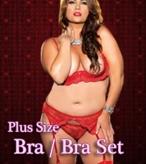 Plus Size Bras & Bra Sets