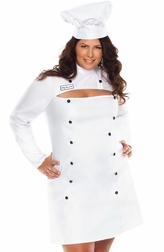 Plus Size Chef RamsMe Sexy 2 PC Costume