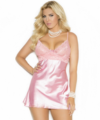 Plus Size Devotion To Our Love Sexy Baby Doll