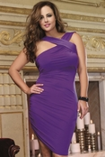 Plus Size Dirty Martini Dress