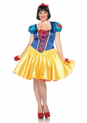 Plus Size Disney Classic Snow White Sexy Costume