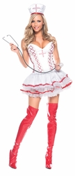 Plus Size Home Care Nurse Sexy Costume