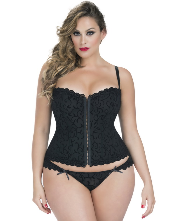 Plus size lingerie outlet