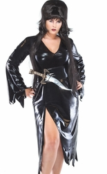 Plus Size Mistress Of the Darque Costume