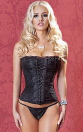 Plus Size My Secret Affair Lace Corset