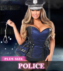 Plus Size Police Costumes