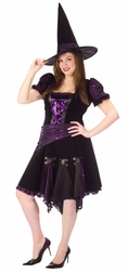 Plus Size Punk Babe Witch Sexy Costume