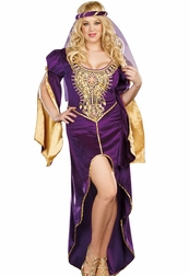 Plus Size Queen Of  Thrones Sexy Costume