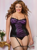 Plus Size Simply Provocative Bustier