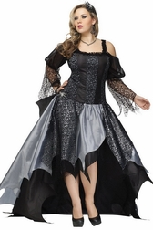 Plus Size Spider Queen Costume