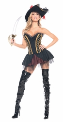 Plus Size The Captains Mistress Sexy Costume