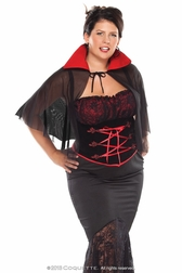 Plus Size Voluptuous Vampire Sexy Costume