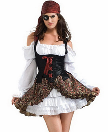 Pretty Little Pirate Sexy Costume