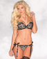 Proper Seduction Pearl Lace Bra & Thong Set