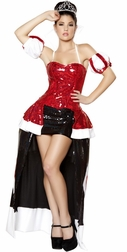 Queen Cutie Sexy 5 PC Costume