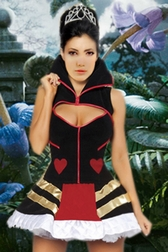 Queen Of Hearts 2 PC Costume
