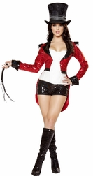 Radiant Ringmaster Sequin 5 PC Costume