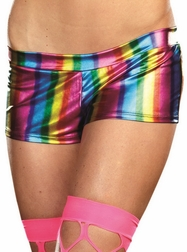 Rainbow Roxie Shorts