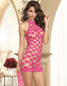 Red Diamond Bedroom Temptress Sexy Chemise