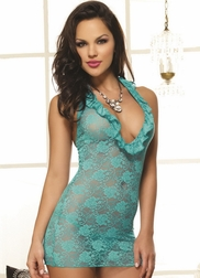 Red Diamond Midnight Lace Babydoll