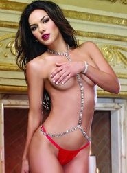 Red Diamond Precious Body Jewels 2 PC Set