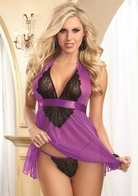 Red Diamond Tempting Treasure Sexy Babydoll