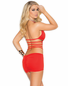 Red Hot Passion Sexy Mini Dress