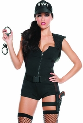 S.W.A.T Commander Sexy 5 PC Costume