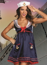 Sailor Mine Sexy Sailor Costume