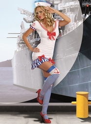 Sailor Pin-Up Sexy Costume