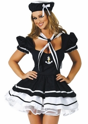 Sailor Sweetie Sexy 3 PC Costume