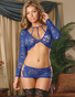 Sapphire Shimmer Sexy Set