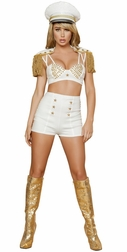 Sassy Sailor Babe Sexy 2 PC Costume