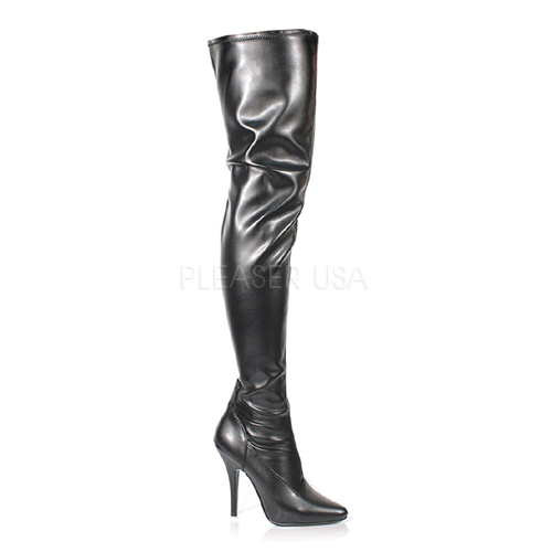 thigh high zip up stiletto boot clearance sale 50 80