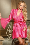 Seducing My Lover Sexy Charmeuse Robe