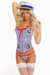 Seducing The Captain 3 PC Costume