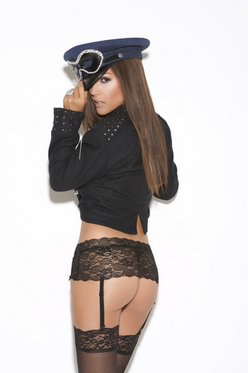 Seductive Lace Garter Belt