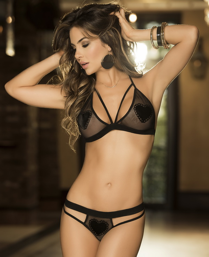 Sensuously Yours Sexy Bra Set
