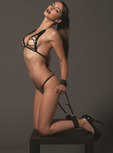 Seriously Sexy Bra, Thong, & Restraint Set