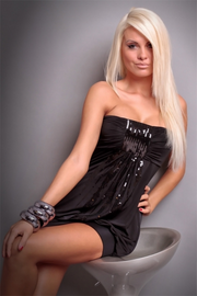 Sexual Fantasies Black Mini Dress