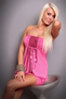 Sexual Fantasies Pink Mini Dress