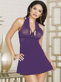 Sexual Serenity Babydoll & Thong Set