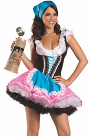 Sexy Beer Girl 3 Piece Costume