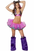 Sexy Circus Clown 3 PC Costume