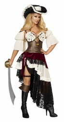 Sexy Pirateer Vixen 3 PC Costume