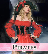 Sexy Pirates Costumes