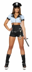 Sexy Police Woman 2 PC Costume