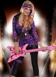 Sexy Rocker Girl Costume